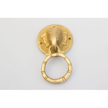 Elefant håndtag med ring