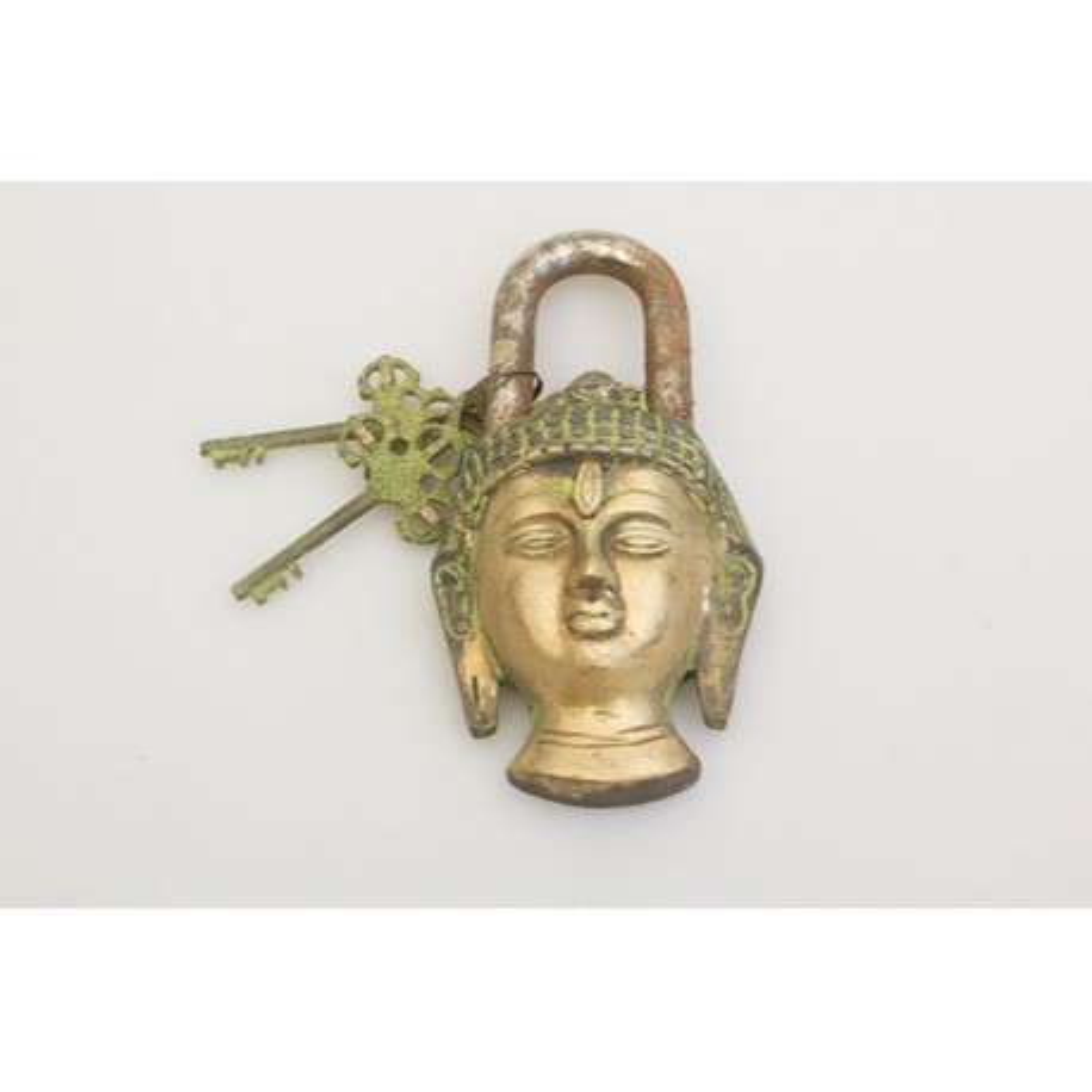 Hængelås, buddha