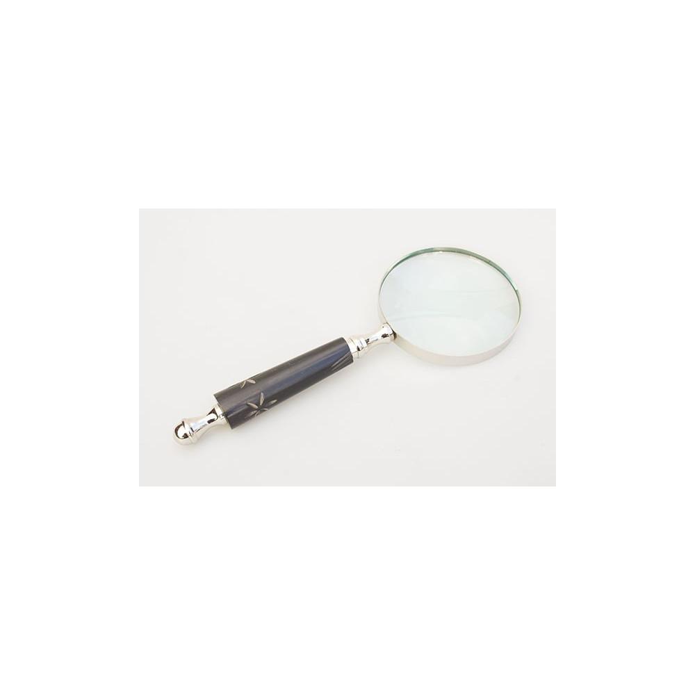 Kraftig lup med glaslinse