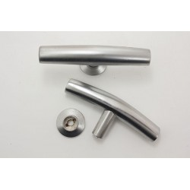 T-greb i børstet stål