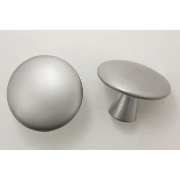 Stort knopgreb i mat aluminum