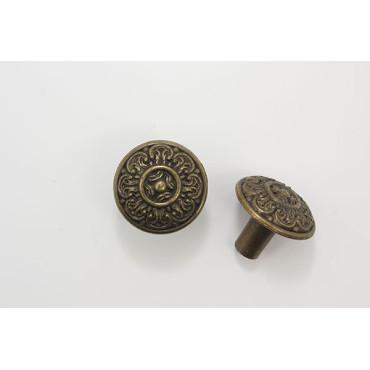Lille møbelknop med mønster