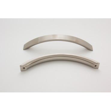 Brugevenligt greb - børstet stål