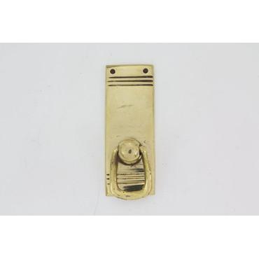 Lille lågegreb uden nøglehul med striber