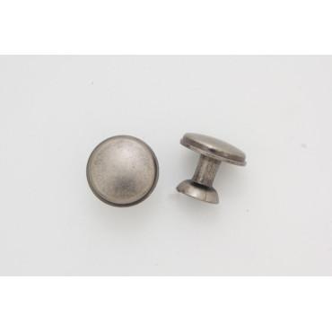 Knopgreb - antik zink - 24 mm