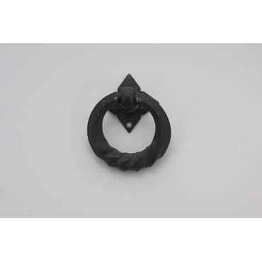 Hængegreb i mat sort - antik look