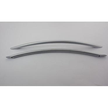 Bøjlegreb i mat børstet stål - 256 mm