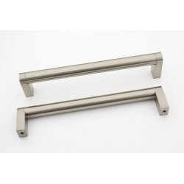 Blank rustfri stål look. Ø 14mm.
