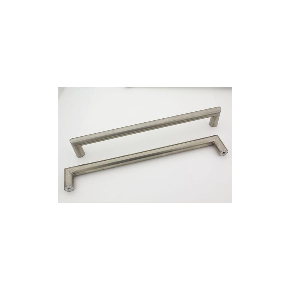 Bøjlegreb i rustfri stål look - 256 mm
