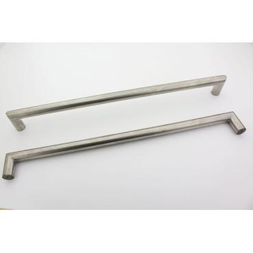 Bøjlegreb i rustfri stål look - 352 mm